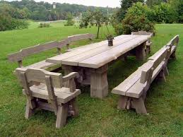 Well Suited Ideas Rustic Garden Furniture Uk Ebay Scotland Australia Kent Wales
