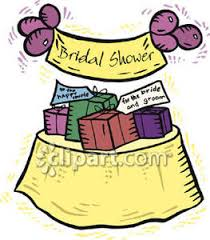 Bridal Shower Gift Clipart 1
