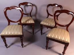 Set Of 4 Victorian Mahogany Balloon Back Dining Chairs - A ... Antique Victorian Ref No 03505 Regent Antiques Set Of Ten Mahogany Balloon Back Ding Chairs 6 Walnut Eight 62 Style Ebay Finely Carved Quality Four C1845 Reproduction Balloon Back Ding Chairs Fiddleback Style Table And In Traditional Living Living Room Upholstery 8 Upholstered Lloonback Antique French