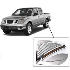 Chrome Fuel Tank Cap Cover Trim For Nissan NAVARA Frontier CAB 4wd ...