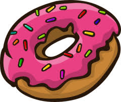 Looking For A Donut Clip Art Search No More As You Can Use This Cute Done In Cartoon Style On Your Personal Or Commercial Projects