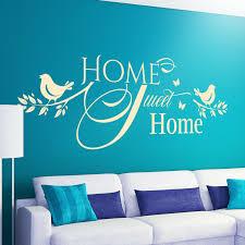 home sweet home wandtattoo spruch familie liebe wohnzimmer