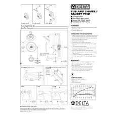 Delta Faucets Cassidy Line by Delta Faucet T14097 Lhp Cassidy Polished Chrome One Handle Valve