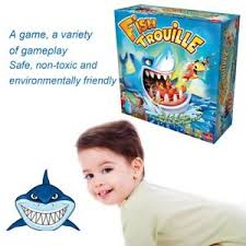Image Is Loading New Facebook Shark Board Game Bite