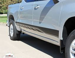 SILVERADO ROCKER 2 : Chevy Silverado Rocker Stripes Lower Door ...