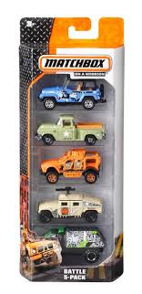 Matchbox 5-pack Assortment - Cars & Trucks - Vehicles & Action ... Matchbox Turns 65 Celebrates Its Sapphire Anniversary Wit Trucks Jimholroyd Diecast Collector Toys From The Past 52 Matchbox Cable Truck Nr 26 Mercedes Toy Buy Online Fishpdconz Seagrave Fire Engine Mbx Rescue 2018 Model Hobbydb Lot Of 9 Vintage Lesney And Cstruction Vehicles Learning Street For Kids 10 Hot Wheels Cars And Chevrolet 100 Years 75 Chevy Stepside Bbdvl58 For Unboxing Review Truck New Hunt 2017 Case L Duk Duck Boat Diecast Collection Of Corgi Rv Aqua King