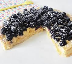 tarte aux mûres façon tiramisu recette facile