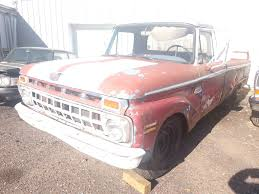 100 1965 Ford Truck Parts 250 Custom Cab No Title For Parts Ryans Relics Estate