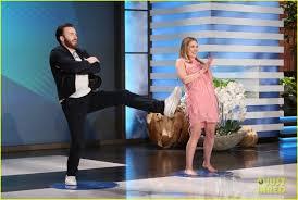 Chris Evans Elizabeth Olsen Ellen Degeneres Show 06