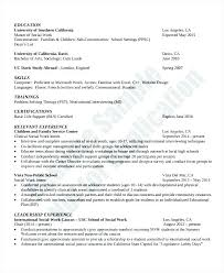 Resume Examples Uc Davis Feat Social Work Sample Template References For Professional And