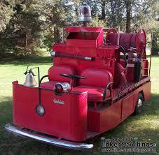 100 Fire Truck Golf Cart Vintage Marketeer Customized SOLD Tinker