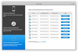 Recover Deleted Lost Data on iPhone 4 5 6 7 without Backup on Mac