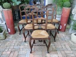 Tall Ladder Back Chairs With Rush Seats by Sold Gallery French And English Antiques