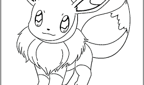 Eevee Coloring Sheets Plain Decoration Pages List Printable Colouring Kitchen Printab