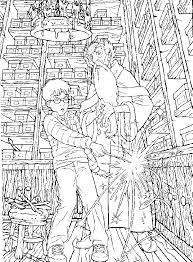 Harry Potter Coloring Picture Page