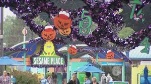 Sesame Place Halloween Parade by Sesame Place 6abc Com