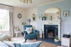 Country Style Living Room With Lovable Decor For Decorating Ideas 18