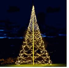 FLAGPOLE CHRISTMAS TREES