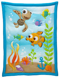 Finding Nemo Bath Towel Set by Finding Nemo A Day At The Sea 3 Piece Crib Bedding Set Baby
