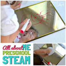 All About Me Easy Art Activity For Preschoolers