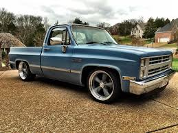 1986 GMC Sierra / Chevy C10 Short Bed Shop Truck For Sale In ... Chevrolet C10 For Sale Hemmings Motor News 1961 Chevy Pick Up Truck Restomod For Trucks Just Pin By Lkin On Nation Pinterest Classic Chevy 1966 Gateway Cars 5087 Read All About This Fully Stored 1968 Pickup Truck Rides Magazine 1972 On Second Thought Hot Rod Network 1967 Stepside Chevy C10 Making The Most Of Life In A Speedhunters 1984 14yearold Creates His Own