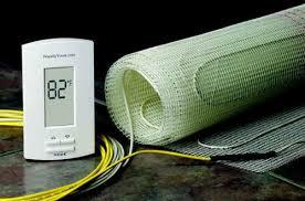electric underfloor heating quiet comfortable connected hometoys
