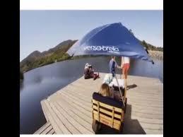 Sport Brella Chair With Umbrella by Sport Brella Umbrella Chair Review Youtube