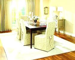 Dining Room Chair Slipcovers Covers White