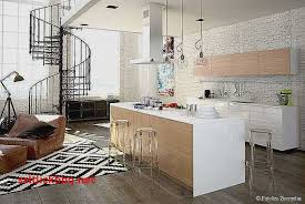 deco cuisine americaine peinture salon cuisine ouverte pour idees de deco de cuisine