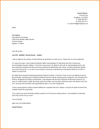 Sample Resume Cover Letters For Social Workers Fresh Letter