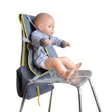 chaise bébé nomade accessoire de voyage pour bébé le siège nomade voyages et