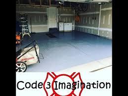 Rust Oleum Epoxyshield Garage Floor Coating Instructions by Garage Rust Oleum Epoxy Shield Floor Coating Diy Youtube