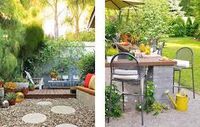 Patio Floor Ideas On A Budget by Yard Remodel Project Outdoor Entertaining And Relaxing Atelier