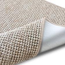 casa pura teppich grandeur pflegeleichtes bouclé viele größen für flur wohnzimmer esszimmer küche schlafzimmer büro gekettelt sand