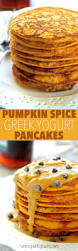 Easy Healthy Pumpkin Pancake Recipe by Pumpkin Spice Greek Yogurt Pancakes