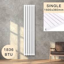 COSTWAY Vertical Column Designer Radiator SingleDouble