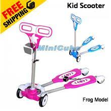High Quality Top Grade 4 Wheels Frog Scooter Kid Toy Bicycle