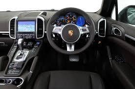 Porsche Cayenne 2010 2017 interior