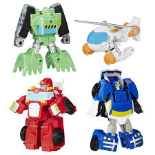 100 Rescue Bots Fire Truck Playskool Heroes Transformers Griffin Rock Team
