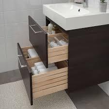ikea godmorgon braviken black brown brogrund faucet sink