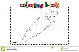 Coloriage Carotte Sauvage 6 à Imprimer Pour Les Enfants Dessin