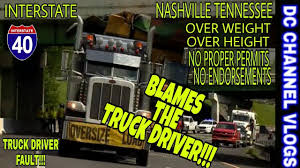 Semi Truck Driver 'Thought' He Was OK'd For Nashville ,TN / VLOG ... Longhaul Truck Driving Jobs 200 Mile Radius Of Nashville Tn How To Start A Food In Driver Who Smashed Into Overpass Lacked Permit For Nashville Fire Department Station 9 Walk Around Of The Rat Pack Dealership Information Neely Coble Company Inc Tennessee Toyota Lineup Beaman 2007 Utility Van 5002920339 Cmialucktradercom Heavy Towing I24 I40 I65 Peed Family Associates Add 4 New Mack Trucks To Growing Fleet I40i65 Reopens After Semi Hits Bridge In Newschannel East Hot Car Death 1yearold Girl Dies After Parent Says