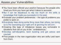 Assess Your Vulnerabilities 10