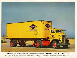 100 Vh Trucks Chevrolet Series V W COE Commercial Vehicles Planet