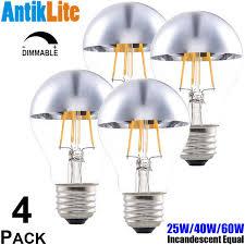 sunset warm white e26 e27 vintage edison light bulb a19 silver