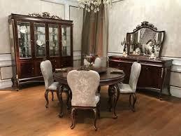 esstische im barockrokoko stil fürs esszimmer günstig