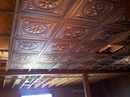 decorative drop in ceiling tiles design new basement and tile
