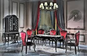 esstisch tisch gruppe esszimmer wohnzimmer garnitur holz design tische schwarz