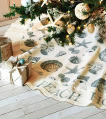 Seashell Christmas Tree Garland by Top 40 Beach Christmas Decorating Ideas Christmas Celebrations