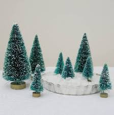 Christmas Trees Types Uk by Eight Green Bottlebrush Christmas Trees By Just Add A Dress
